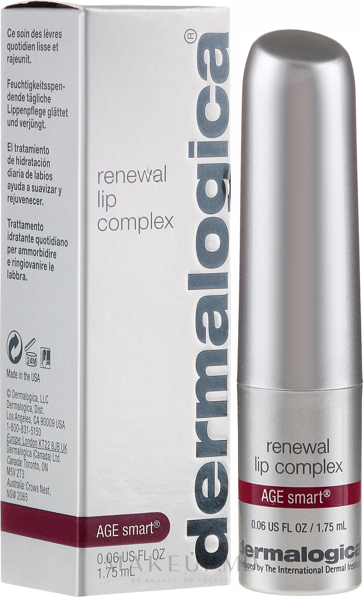 Balsam de buze - Dermalogica Age Smart Renewal Lip Complex — Imagine 1.75 ml