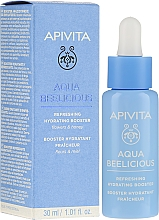 Parfumuri și produse cosmetice Booster revigorant și hidratant - Apivita Aqua Beelicious Refreshing Hydrating Booster With Flowers