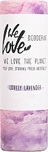 Parfumuri și produse cosmetice Deodorant solid cu extract de lavandă - We Love The Planet Lovely Lavender Deodorant