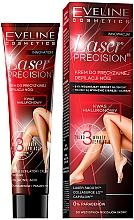 Parfumuri și produse cosmetice Cremă depilatoare pentru picioare - Eveline Cosmetics Laser Precision