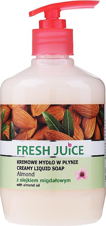 Cremă-săpun cu lăptișor hidratant de migdale - Fresh Juice Almond