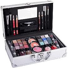 Parfumuri și produse cosmetice Geantă pentru cosmetică - Cosmetic 2K Fabulous Beauty Train Case Complete Makeup Palette