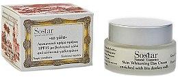 Parfumuri și produse cosmetice Cremă de zi cu efect iluminant - Sostar Skin Whitening Day Cream SPF15 Enriched With Bio Donkey Milk