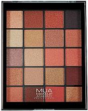 Parfumuri și produse cosmetice Paletă fard de ochi - MUA 20 Shade Eyeshadow Palette