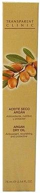 "Ulei-spray pentru corp ""Argan"" - Transparent Clinic Argan Dry Oil in Spray — Imagine N2"