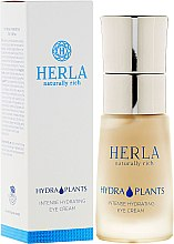 Parfumuri și produse cosmetice Cremă pentru zona ochilor - Herla Hydra Plants Intense Hydrating Eye Cream