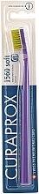 """Parfumuri și produse cosmetice Periuță de dinți """"Soft"""", verde + violet - Curaprox"""