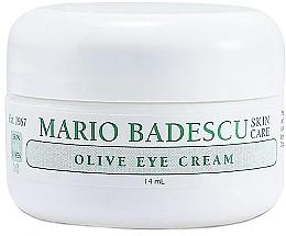 Parfumuri și produse cosmetice Cremă cu extract de măsline pentru zona din jurul ochilor - Mario Badescu Olive Eye Cream