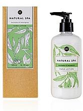 Parfumuri și produse cosmetice Loțiune de mâini - Accentra Natural Spa Eucalyptus & Lemon Grass Hand Lotion
