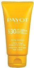 Parfumuri și produse cosmetice Cremă anti-îmbătrânire cu protecție solară SPF 30 - Payot Sun Sensi Protective Anti-aging Face Cream