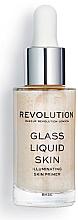 Parfumuri și produse cosmetice Primer-ser lichid - Makeup Revolution Glass Liquid Skin Primer Serum