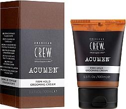 Parfumuri și produse cosmetice Cremă pentru păr - American Crew Acumen Firm Hold Grooming Cream