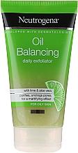 Parfumuri și produse cosmetice Peeling facial pentru utilizarea zilnică - Neutrogena Oil Balancing Daily Exfoliator