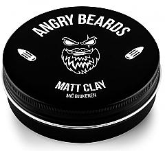 Parfumuri și produse cosmetice Argilă pentru păr - Angry Beards Mic Bjukenen Matt Clay