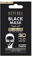 """Parfumuri și produse cosmetice Mască neagră de față  """"Procollagen"""" - Revuele Black Mask Peel Off Pro-Collagen (tester)"""