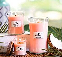 Lumânare parfumată în suport de sticlă - WoodWick Hourglass Candle Coastal Sunset — Imagine N4