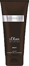 Parfumuri și produse cosmetice S.Oliver Superior Men - Gel de duș