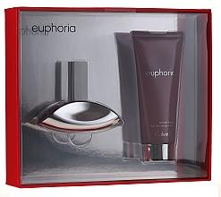 Parfumuri și produse cosmetice Calvin Klein Euphoria - Set (edp/30ml + b/l/100ml)