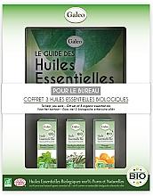 """Parfumuri și produse cosmetice Set de uleiuri esențiale """"Pentru muncă"""" - Galeo To Help You Work Gift Set (ess/oil/3x10ml)"""