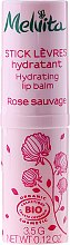 Parfumuri și produse cosmetice Balsam hidratant pentru buze - Melvita Rose Sauvage Moisturizing Lip Balm