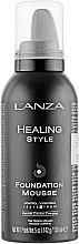 Parfumuri și produse cosmetice Spumă pentru aranjarea părului - L'anza Healing Style Foundation Mousse