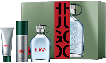 Hugo Boss Hugo Man - Set (edt/125ml+ deo/150ml + sh/gel/50ml)