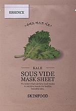 Parfumuri și produse cosmetice Маска тканевая для лица - Skinfood Kale Sous Vide Mask Sheet