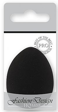 Burete pentru machiaj, 36767, negru - Top Choice Foundation Sponge Blender — Imagine N1