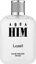 Parfumuri și produse cosmetice Lazell Aqua Him - Apa de toaletă