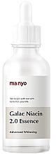 Parfumuri și produse cosmetice Esență fortificată cu galactomisis și niacinamidă - Manyo Galac Niacin 2.0 Essenc