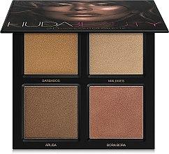Parfumuri și produse cosmetice Paletă iluminatoare pentru față - Huda Beauty 3D Highlighter Palette