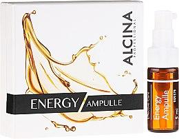 Parfumuri și produse cosmetice Ser facial pentru pielea obosită - Alcina Energy Ampulle