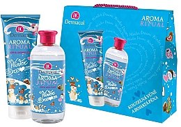 Parfumuri și produse cosmetice Set - Dermacol Aroma Ritual Winter Dream (s/g/250ml + bath/foam/500ml)