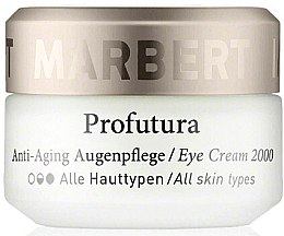 Parfumuri și produse cosmetice Cremă pentru zona din jurul ochilor - Marbert Profutura Anti-Aging Eye Care Eye Cream 2000
