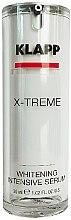 Parfumuri și produse cosmetice Ser facial - Klapp X-treme Whitening Intensive Serum