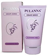 Parfumuri și produse cosmetice Lapte demachiant pentru față - Pulanna Grape Series Cleansing Milk