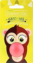 "Parfumuri și produse cosmetice Balsam pentru buze ""Pepene galben"" - Bielenda Crazy Kiss Lip Balm"