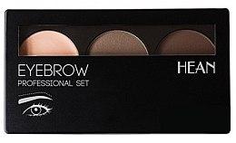 Parfumuri și produse cosmetice Paletă pentru sprâncene - Hean Professional Eyebrow Set 2