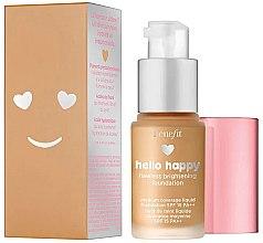Parfumuri și produse cosmetice Fond de ten - Benefit Hello Happy Flawless Foundation (mini)