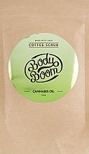 Parfumuri și produse cosmetice Scrub de cafea cu cânepă - BodyBoom Cannabis Oil Coffee Scrub