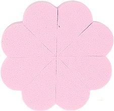 Parfumuri și produse cosmetice Burete de machiaj 36149, 8buc, roz - Top Choice
