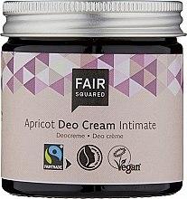 Parfumuri și produse cosmetice Cremă deodorantă pentru igiena intimă - Fair Squared Apricot Deo Cream Intimate