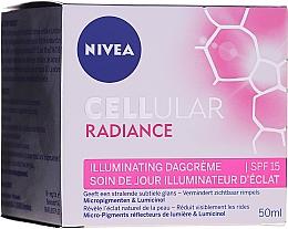 Parfumuri și produse cosmetice Cremă de zi pentru față - Nivea Cellular Radiance Illuminating Day Cream SPF 15