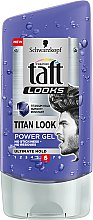 Parfumuri și produse cosmetice Gel de păr - Schwarzkopf Taft Looks Titan Look Extreme Gel Radically Strong