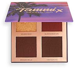 Parfumuri și produse cosmetice Paletă pentru conturarea feței - Makeup Revolution X Tammi Face Palette