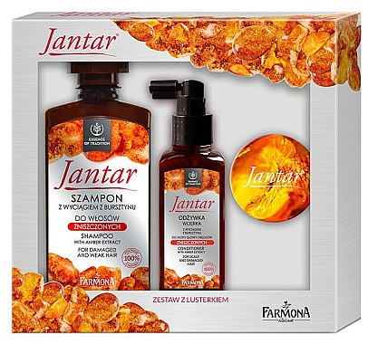 Set - Farmona Jantar (shm/330ml+h/cond/100ml+mirror) — Imagine N1