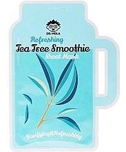 Parfumuri și produse cosmetice Mască de față - Dr. Mola Refreshing Tea Tree Smoothie Sheet Mask
