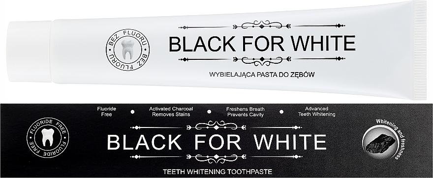 Зубная паста с активированным углем - Biomika Black For White Teeth Paste — фото N1