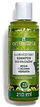 Parfumuri și produse cosmetice Șampon anti-mătreață - Orientana Ayurvedic Shampoo Neem & Green Tea