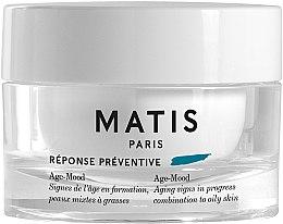 Parfumuri și produse cosmetice Cremă anti-îmbătrânire pentru ten combinat și gras - Matis Reponse Preventive Age-Mood